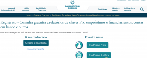 Read more about the article Registrato – Banco Central do Brasil