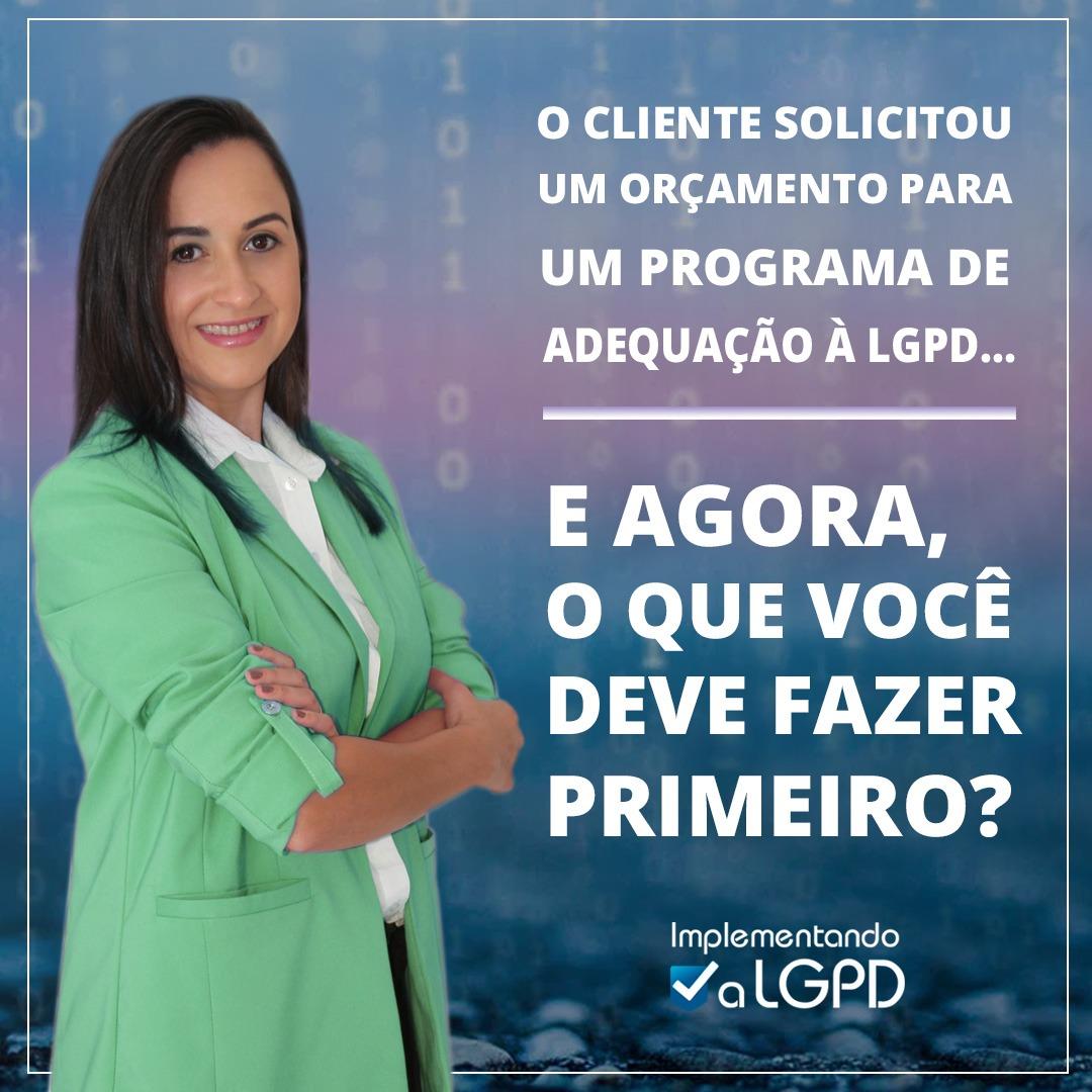 Read more about the article O que fazer primeiro quando um cliente solicita um orçamento para adequação da empresa à LGPD?