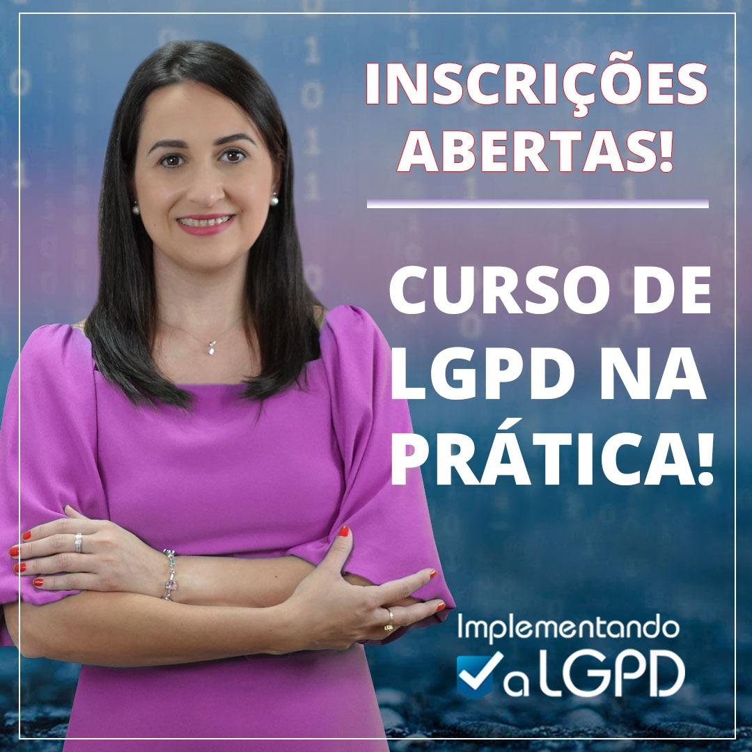 Read more about the article Curso de LGPD na prática – Inscrições abertas!